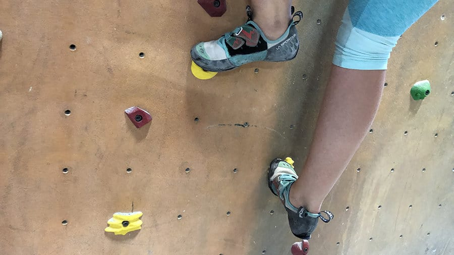 how tight should your climbing shoes be