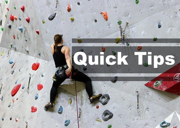 Quick Tips For Getting Back Into Climbing After a Long Break