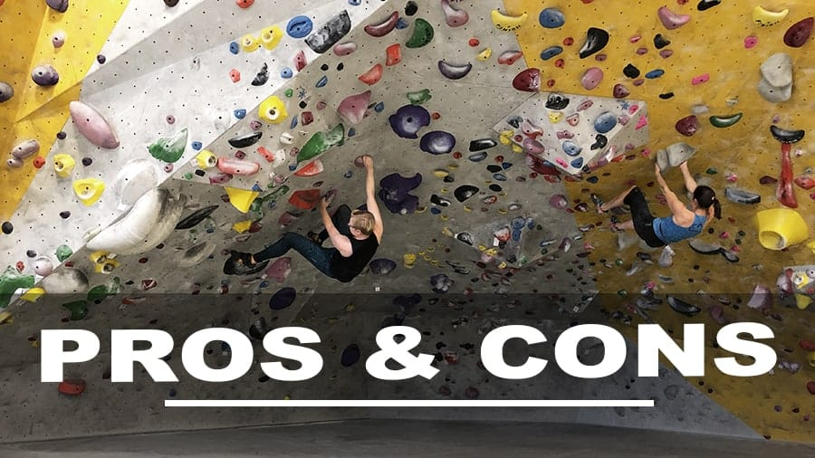Pros and Cons of Indoor Bouldering