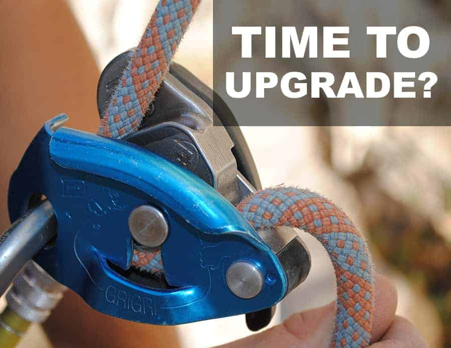 time to upgrade assisted breaking belay device