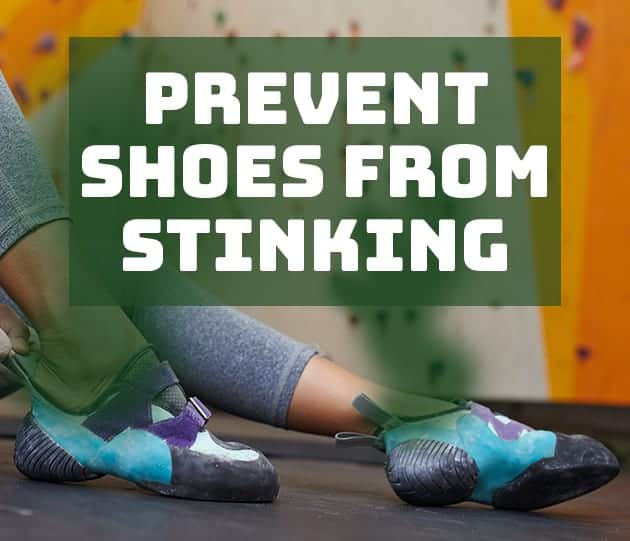 How To Prevent Climbing Shoes From Smelling