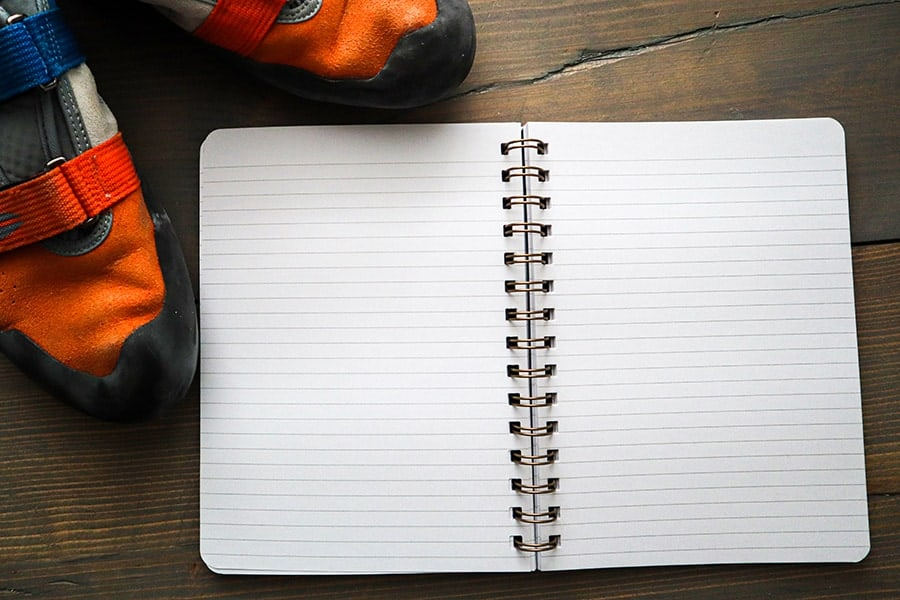 What Should You Record In A Climbing Journal?