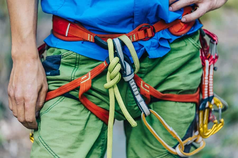 How Should Your Climbing Harness Fit?