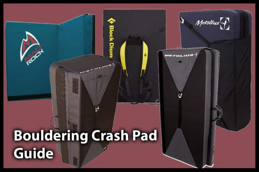 The Top 5 Crash Pads For Bouldering: How To Decide Which Is Best