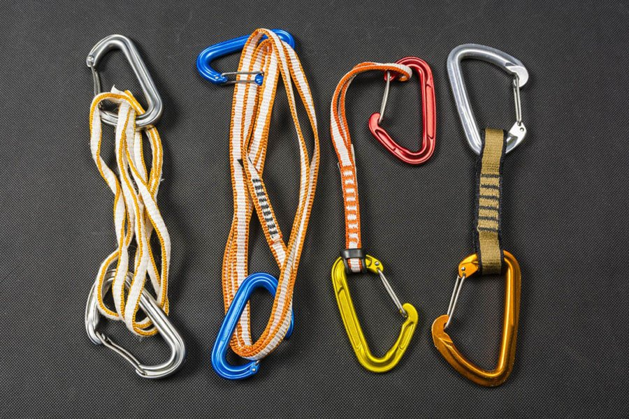 What Quickdraws Do Trad Climbers Use?