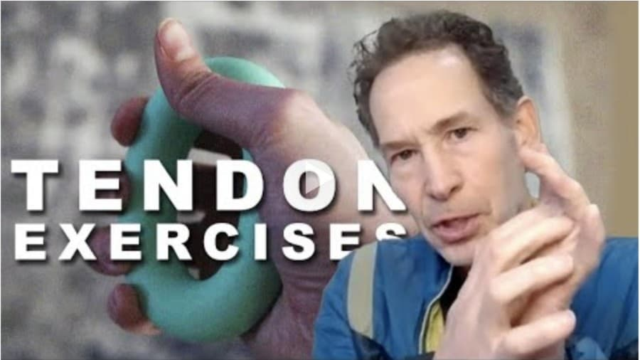 Exercises to prevent tendon injuries for climbers