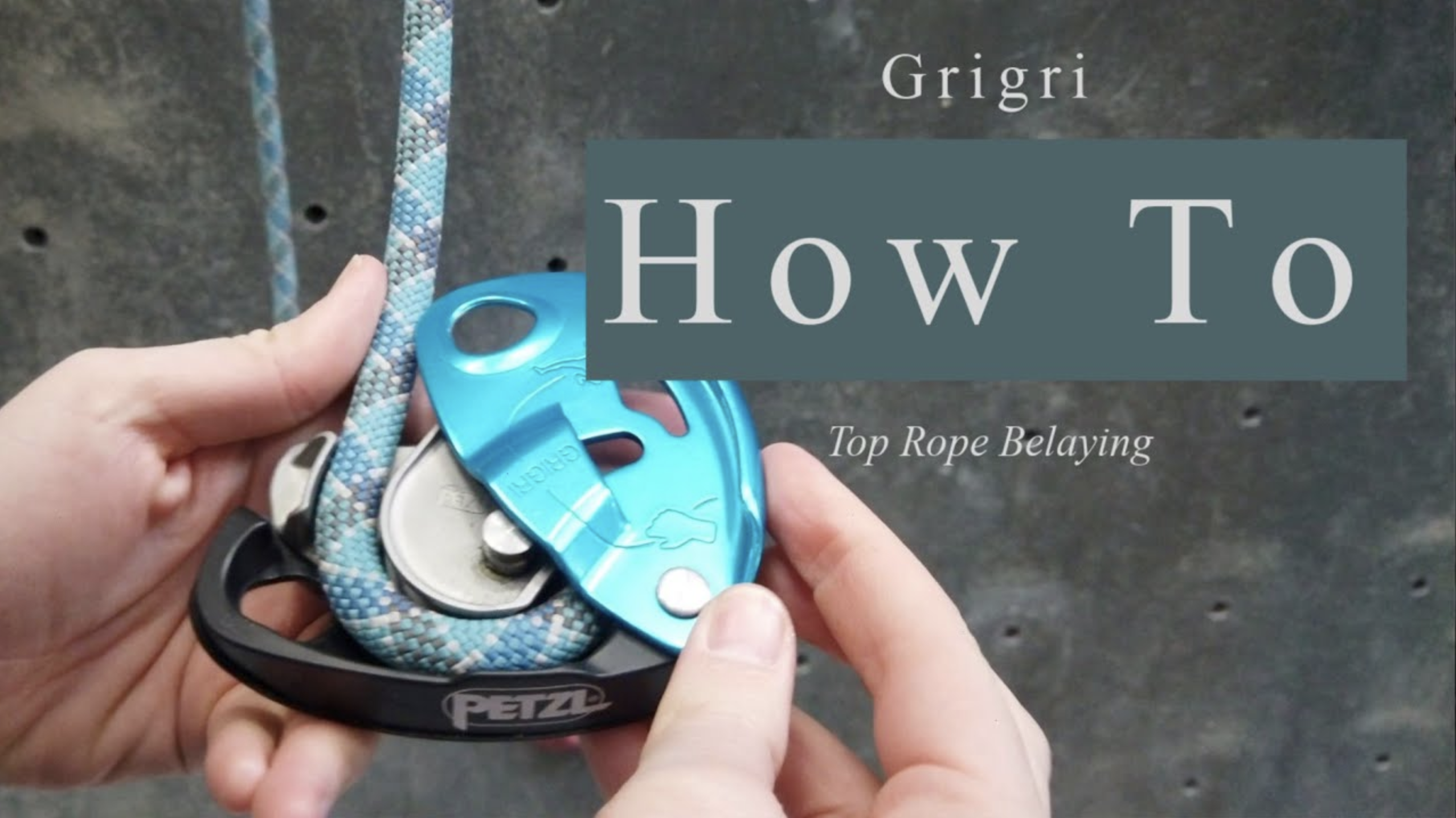 How To Belay With A Grigri For Top Rope Climbing   With photos and video