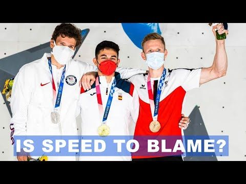 What Happened During The Men's 2021 Climbing Olympics?